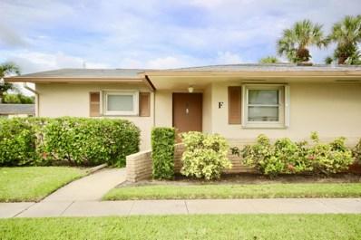 2557 Dudley Drive W UNIT F, West Palm Beach, FL 33415 - MLS#: RX-10361549