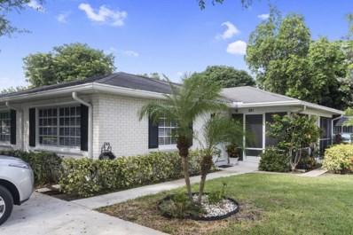 10075 41st Terrace S UNIT 201, Boynton Beach, FL 33436 - MLS#: RX-10364227