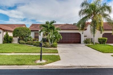 7787 Villa Nova Drive, Boca Raton, FL 33433 - MLS#: RX-10364435