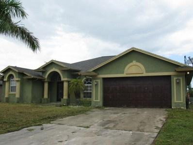 621 SW Saragossa Avenue, Port Saint Lucie, FL 34953 - MLS#: RX-10365057