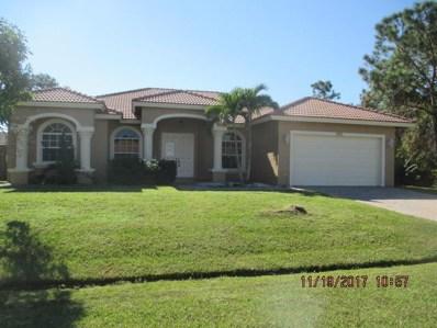 5928 NW Foust Circle, Port Saint Lucie, FL 34986 - MLS#: RX-10365059