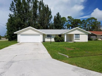 701 SE Polynesian Avenue, Port Saint Lucie, FL 34983 - MLS#: RX-10366683