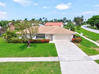 411 N Country Club Boulevard, Boca Raton, FL 33487 - MLS#: RX-10367434
