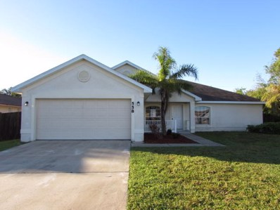 558 SW Grove Avenue, Port Saint Lucie, FL 34983 - MLS#: RX-10367581