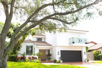 6600 Pond Apple Road, Boca Raton, FL 33433 - MLS#: RX-10367731