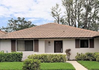 715 Club Drive, Palm Beach Gardens, FL 33418 - MLS#: RX-10367805