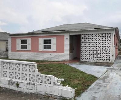 832 W 4th Street, Riviera Beach, FL 33404 - MLS#: RX-10368631