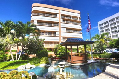 3210 S Ocean Boulevard UNIT 804, Highland Beach, FL 33487 - MLS#: RX-10368795