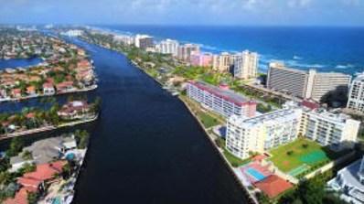 3114 S Ocean Boulevard UNIT 610, Highland Beach, FL 33487 - MLS#: RX-10368897