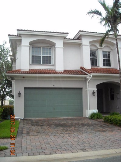 41 Lancaster Road, Boynton Beach, FL 33426 - MLS#: RX-10369097