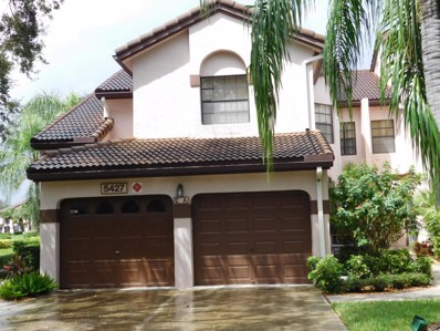 5427 Verona Drive UNIT A, Boynton Beach, FL 33437 - MLS#: RX-10369247