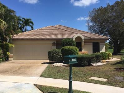 10610 Crystal Lake Drive, Boca Raton, FL 33428 - MLS#: RX-10369292