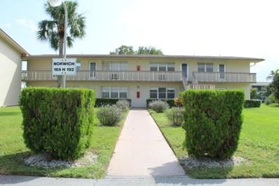 172 Norwich H UNIT 172, West Palm Beach, FL 33417 - MLS#: RX-10369307