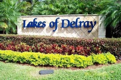 15500 Lakes Of Delray Boulevard UNIT 104, Delray Beach, FL 33484 - MLS#: RX-10369509