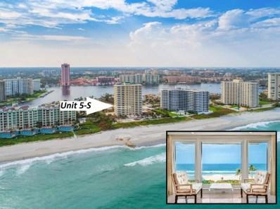 750 S Ocean Boulevard UNIT 5-S, Boca Raton, FL 33432 - MLS#: RX-10369655