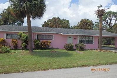 1801 N 29th Street, Fort Pierce, FL 34947 - MLS#: RX-10370483