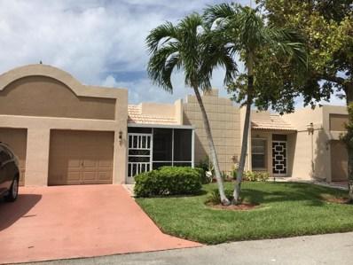 18901 Haywood Terrace UNIT 7, Boca Raton, FL 33496 - MLS#: RX-10370562