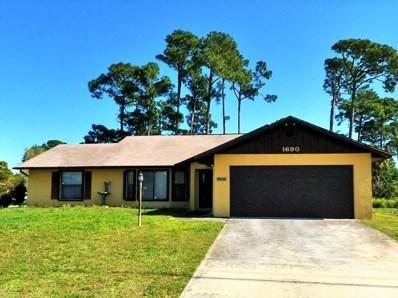 1690 N 37th Street, Fort Pierce, FL 34947 - MLS#: RX-10370672