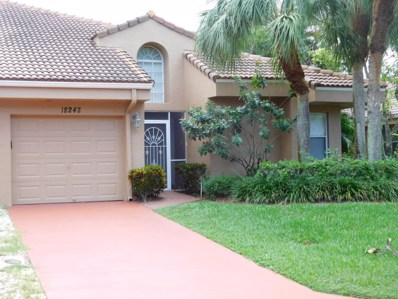 18242 Covina Way UNIT A, Boca Raton, FL 33498 - MLS#: RX-10370915