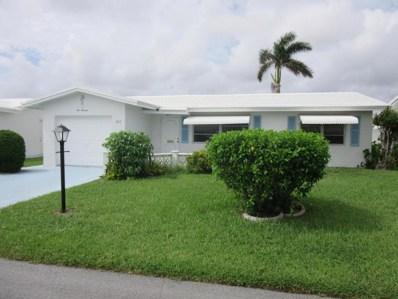 1013 SW 16th Street, Boynton Beach, FL 33426 - MLS#: RX-10371049