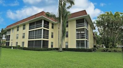 5500 Tamberlane Circle UNIT 205, Palm Beach Gardens, FL 33418 - MLS#: RX-10371277