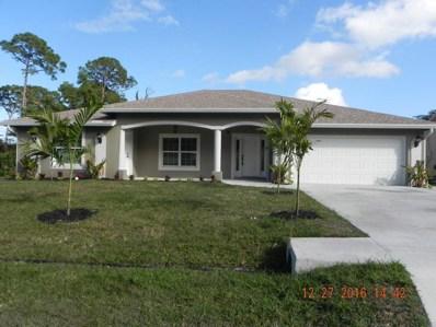 4649 SW Scanavino Street, Port Saint Lucie, FL 34953 - MLS#: RX-10371664