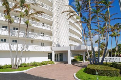 2505 S Ocean Boulevard UNIT 5100, Palm Beach, FL 33480 - MLS#: RX-10372015