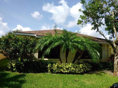9915 Papaya Tree Trail UNIT A, Boynton Beach, FL 33436 - MLS#: RX-10372179