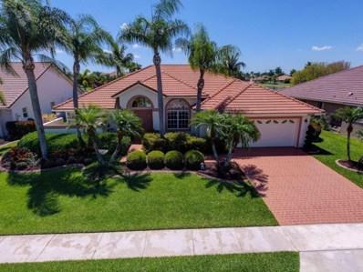 22298 Vista Lago Drive, Boca Raton, FL 33428 - MLS#: RX-10372261