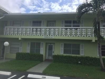 1110 Mahogany Way UNIT 102, Delray Beach, FL 33445 - MLS#: RX-10372292