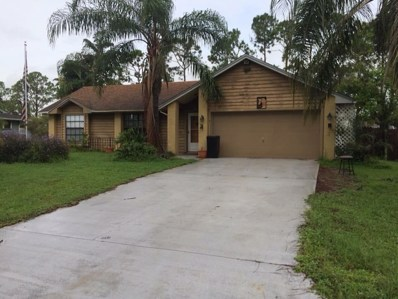 1373 SW Ingrassina Avenue, Port Saint Lucie, FL 34953 - MLS#: RX-10372352