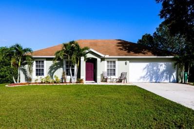 401 NW Biltmore Street, Port Saint Lucie, FL 34983 - MLS#: RX-10372433