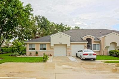 9112 Vineland Court UNIT A, Boca Raton, FL 33496 - MLS#: RX-10372622