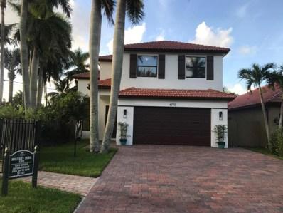 4772 Gateway Gardens Drive, Boynton Beach, FL 33436 - MLS#: RX-10372645