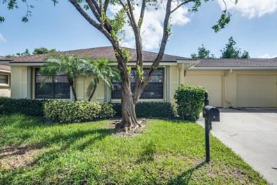 9840 Parkinsonia Tree Trail UNIT A, Boynton Beach, FL 33436 - MLS#: RX-10372694