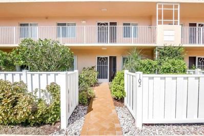 5906 Crystal Shores Drive UNIT 102, Boynton Beach, FL 33437 - MLS#: RX-10373036