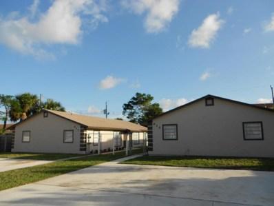 915 & 925 W 36th, Riviera Beach, FL 33404 - MLS#: RX-10373097