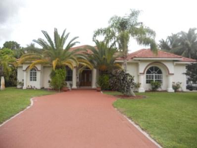 13440 Orange Grove Boulevard, Royal Palm Beach, FL 33411 - MLS#: RX-10374415