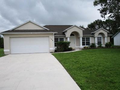 1481 SW Algardi Lane, Port Saint Lucie, FL 34953 - MLS#: RX-10374631