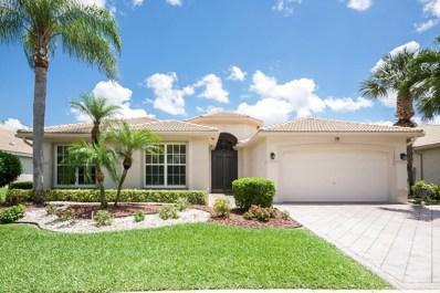 13232 Alhambra Lake Circle, Delray Beach, FL 33446 - MLS#: RX-10375394