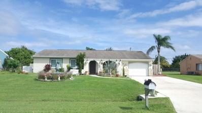 1821 SE Manth Lane, Port Saint Lucie, FL 34983 - MLS#: RX-10375460