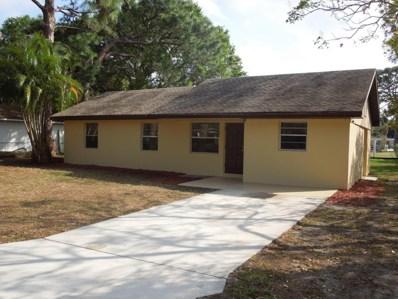 341 Hosbine Street, Fort Pierce, FL 34982 - MLS#: RX-10375621