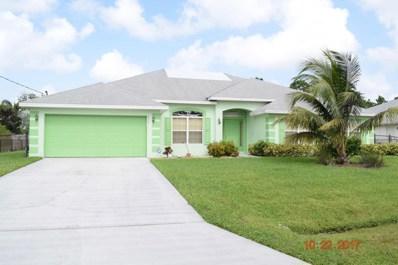 5925 NW Ketona Circle, Port Saint Lucie, FL 34986 - MLS#: RX-10375717