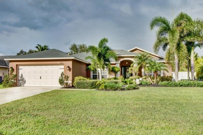 182 SW Aldoro Place, Port Saint Lucie, FL 34953 - MLS#: RX-10376345