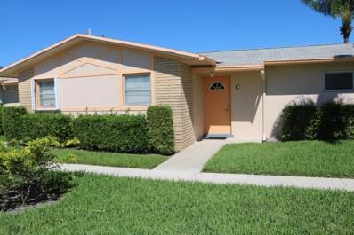 2607 Dudley Drive W UNIT C, West Palm Beach, FL 33415 - MLS#: RX-10376760
