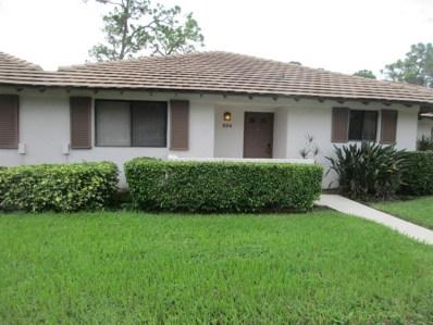 524 Club Drive, Palm Beach Gardens, FL 33418 - MLS#: RX-10377909