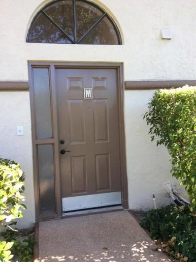 5154 Floria Drive UNIT M, Boynton Beach, FL 33437 - MLS#: RX-10378055