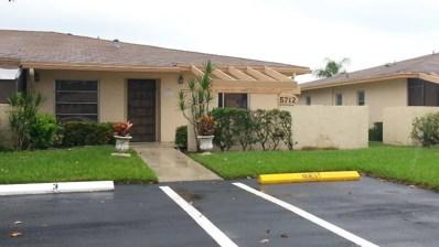 5712 Phoenix Palm Court UNIT C, Delray Beach, FL 33484 - MLS#: RX-10378118