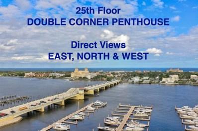 400 N Flagler Drive UNIT Ph-C1, West Palm Beach, FL 33401 - MLS#: RX-10379097