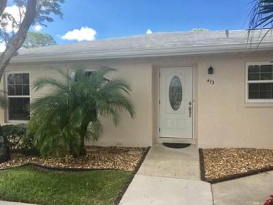 473 Holyoke Lane, Lake Worth, FL 33467 - MLS#: RX-10379126